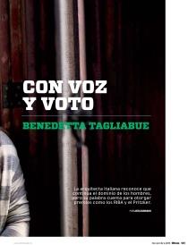Entrevista Benedetta Tagliabue