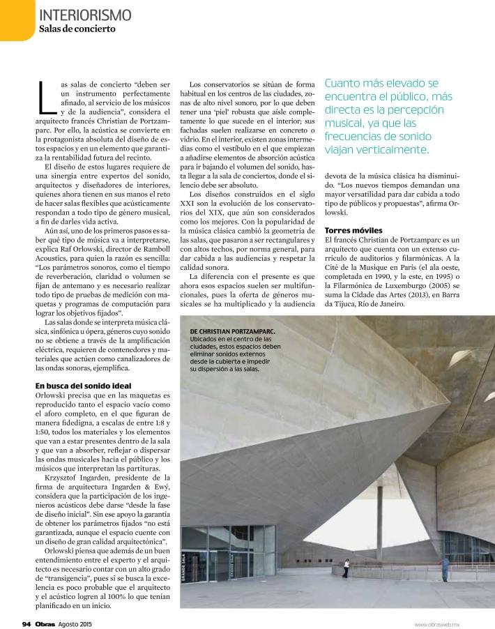 Arquitectura y acustica