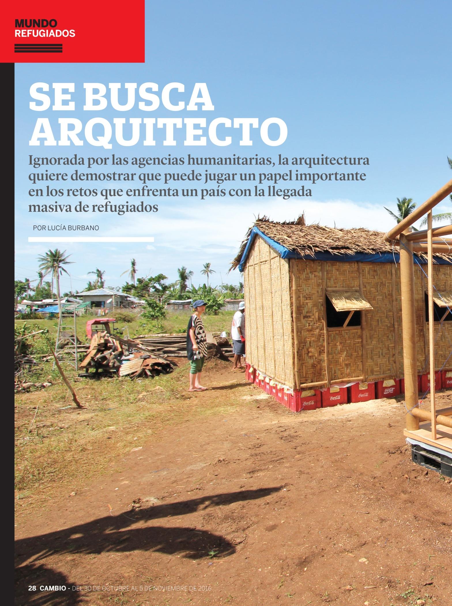 arquitectura para refugiados