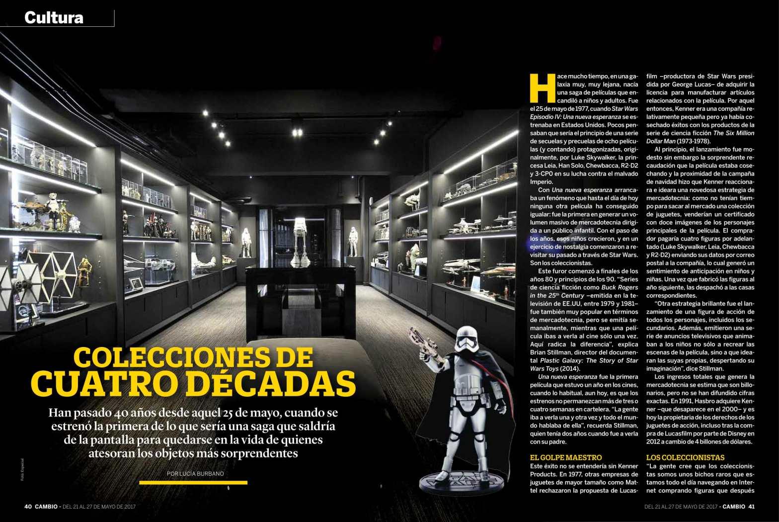 Star wars 40 años